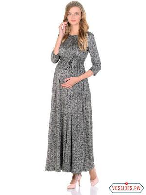 vestidos para embarazadas con manga
