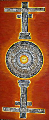 "Pradarshak presents ""Vedh"" Solo Exhibition of Paintings by Madhavi Joshi."