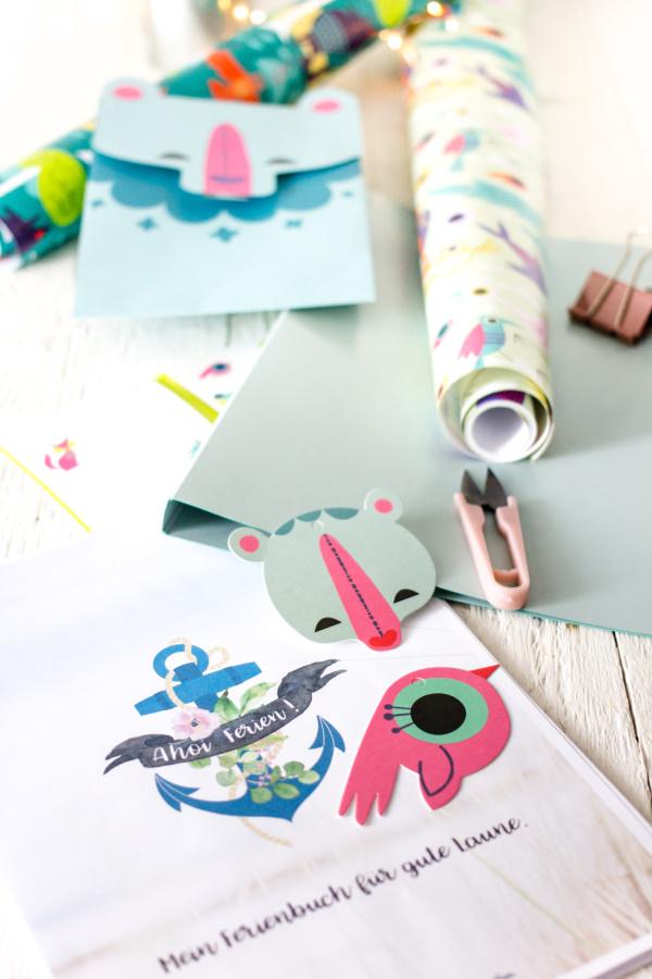Ikea SPRUDLA Paper Shop: Das kostenlosen DIY Kinder Kreativ-Buch für die Ferien!