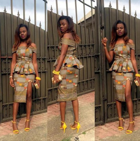 1aac59c61b6676 Fabulous Ankara skirt and blouse design 2018 for wedding will be the best  to rock that owambe party you intend going. Most wedding guests prefer skirt  and ...