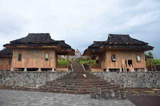 Kampung adat pandan wangi cianjur, termasuk 7 cluster wisata di cianjur