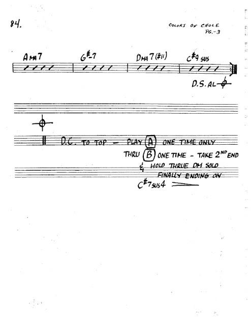 Partitura Saxofón Eberhard Weber