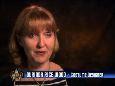 Durinda Rice Wood, costume designer for The Next Generation's second season