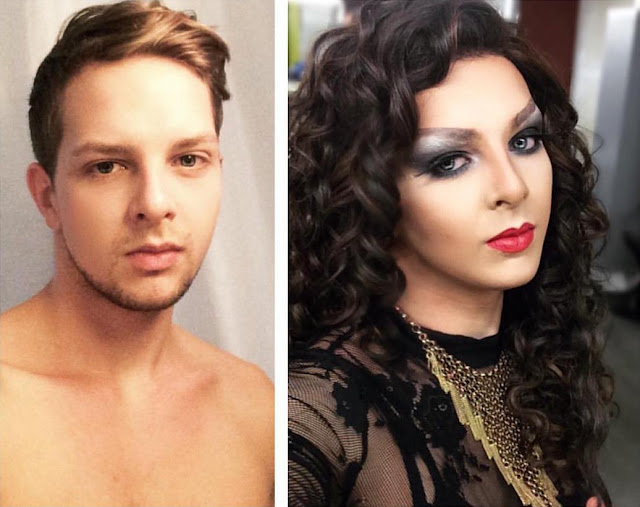 Boy To Drag Queen Transformation