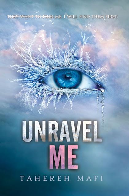 """News: Revelada a capa do livro """"Unravel Me"""", da autora Tahereh Mafi. 8"""