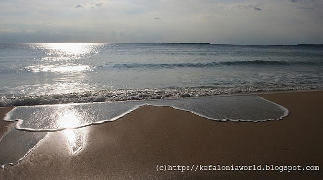 View to Vardiani Islet, Kefalonia