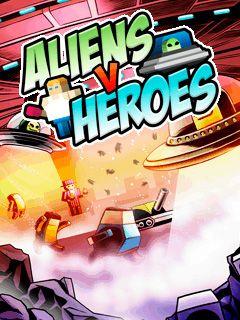 Tải game trí tuệ Aliens VS Heroes miễn phí