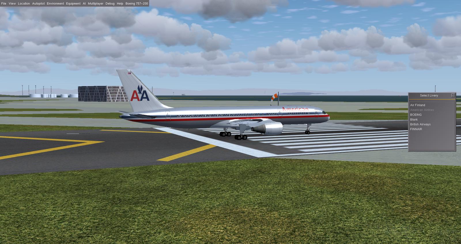 Aviões FlightGear