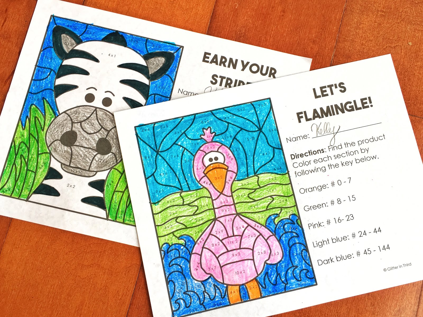 small resolution of Fun multiplication worksheets grade 3   FREE PDF - Glitter in Third