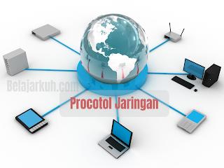 Bagian - Bagian Utama Protocol Pada Jaringan Komputer