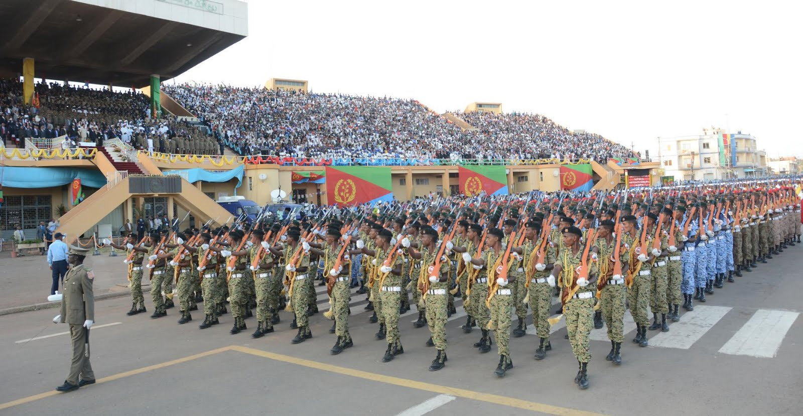 <&quot;The wall that the Ethiopians had carefully erected (to isolate Eritrea) has frankly crumbled.&quot;
