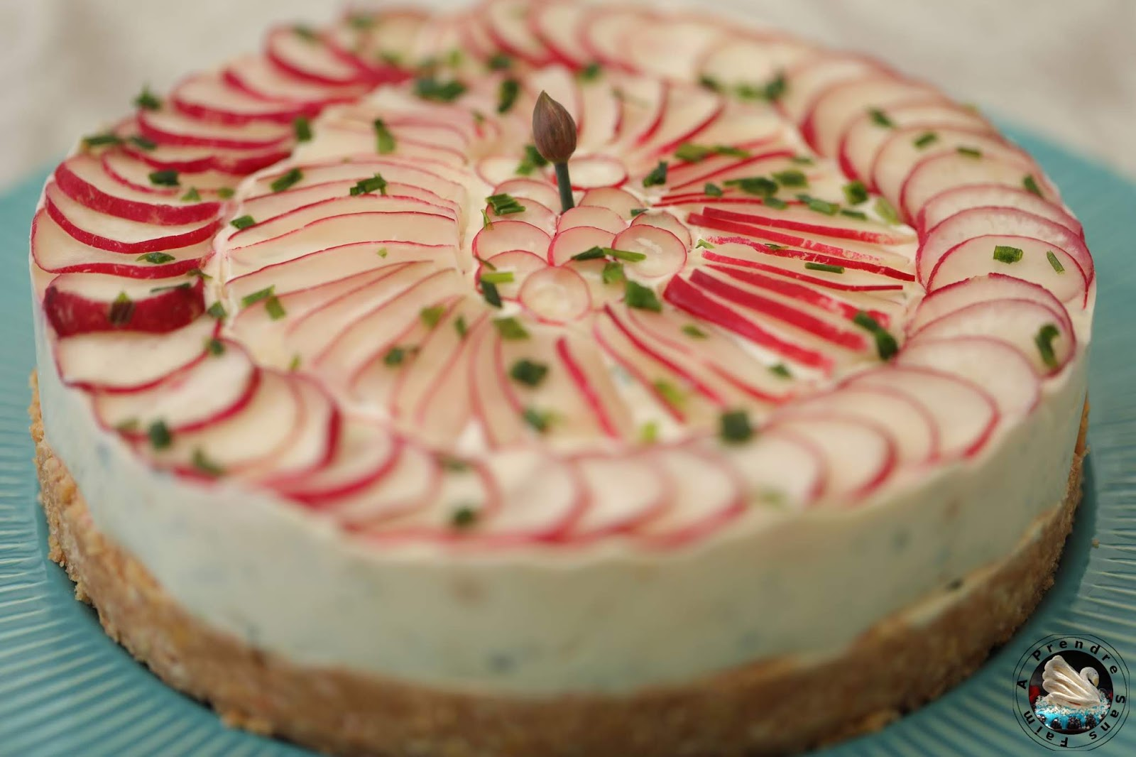 Cheesecake aux radis