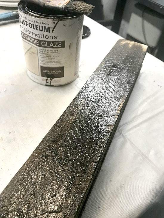 Staining Pallet Wood for a Tea Light Candle Holder