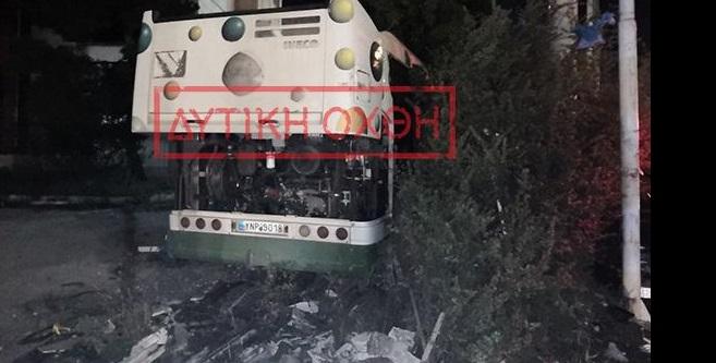 Φονικό τροχαίο: Αυτοκίνητο εμβόλισε λεωφορείο μετά από ληστεία (Φωτό)