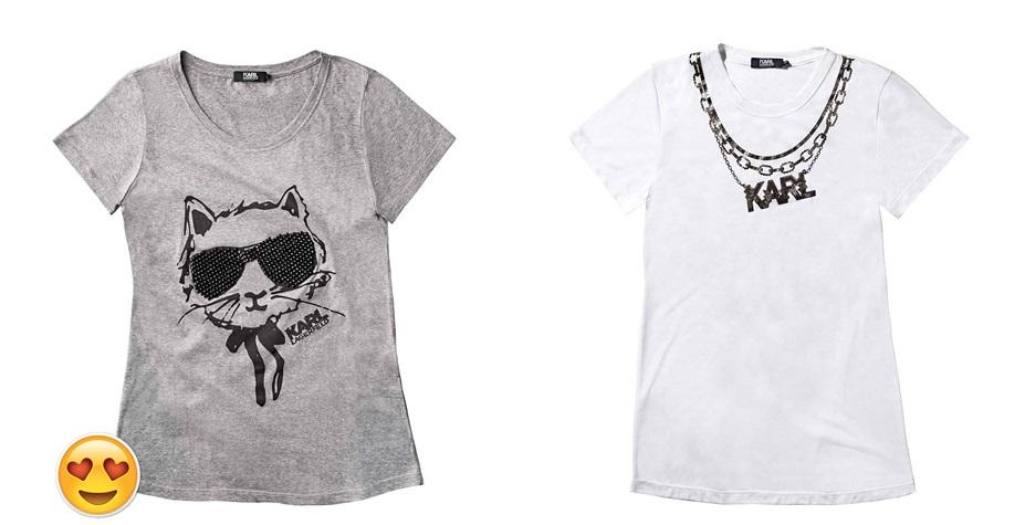 0c4f7d527c Camiseta Cinza Choupette - R 129