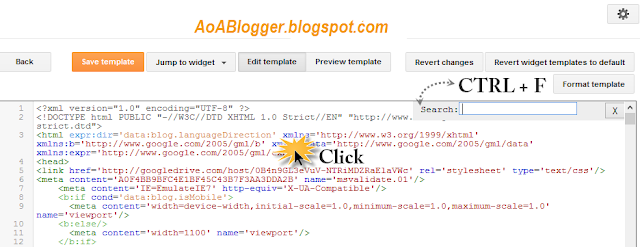 remove credit link in blogger template