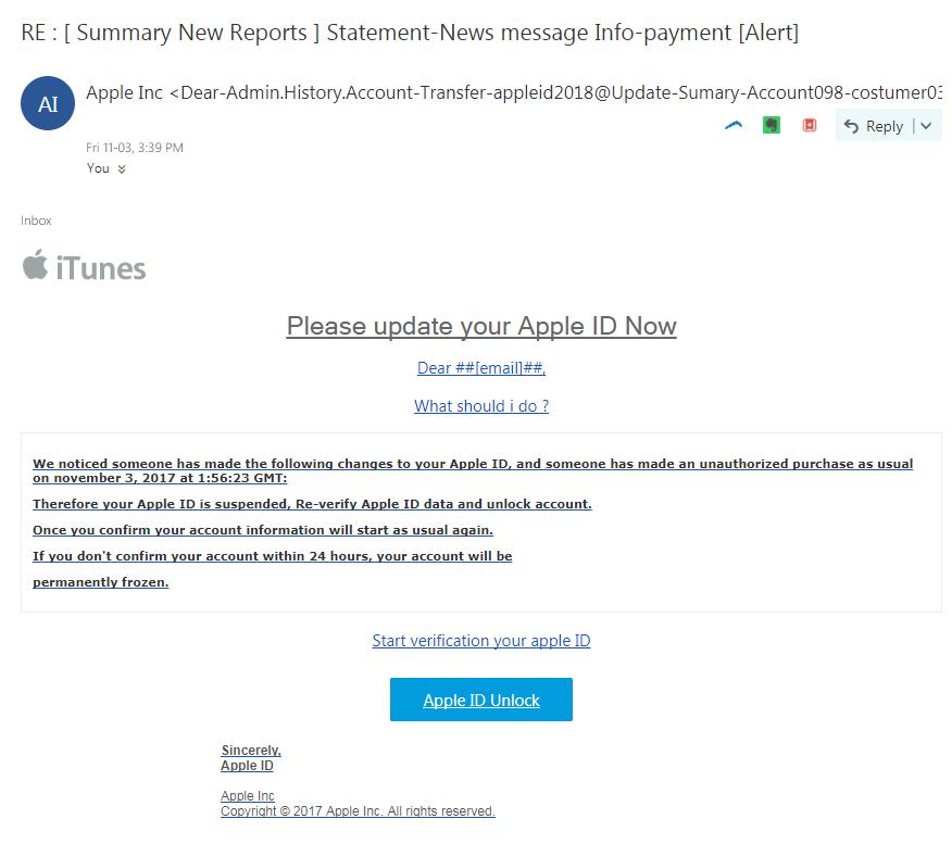 MetadataConsulting ca: Phishing Email - RE : [ Summary New