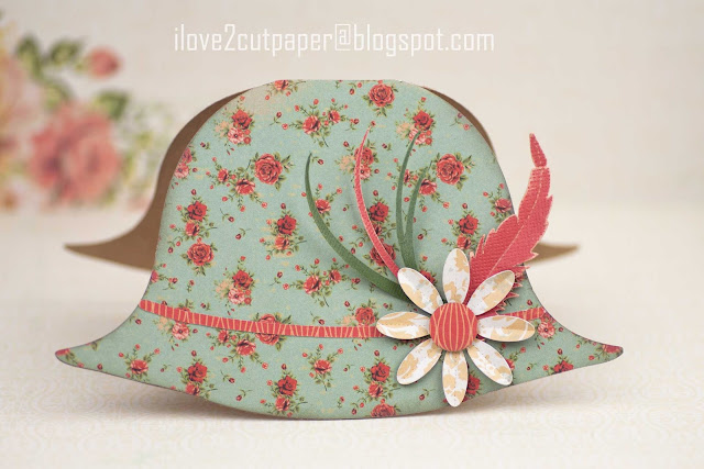 Hat shaped card, hats, ilove2cutpaper, LD, Lettering Delights, Pazzles, Pazzles Inspiration, Pazzles Inspiration Vue, Inspiration Vue, Print and Cut, svg, cutting files, templates, Silhouette Cameo cutting machine, Brother Scan and Cut, Cricut