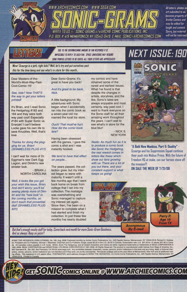 Read online Sonic The Hedgehog comic -  Issue #189 - 34