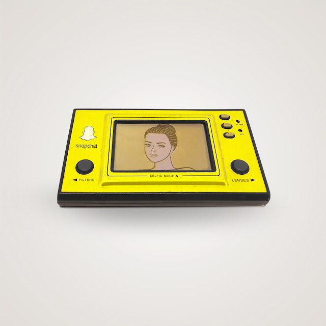 Some Modern Social Media Apps Cleverly Turned Into Objects From The 1980's
