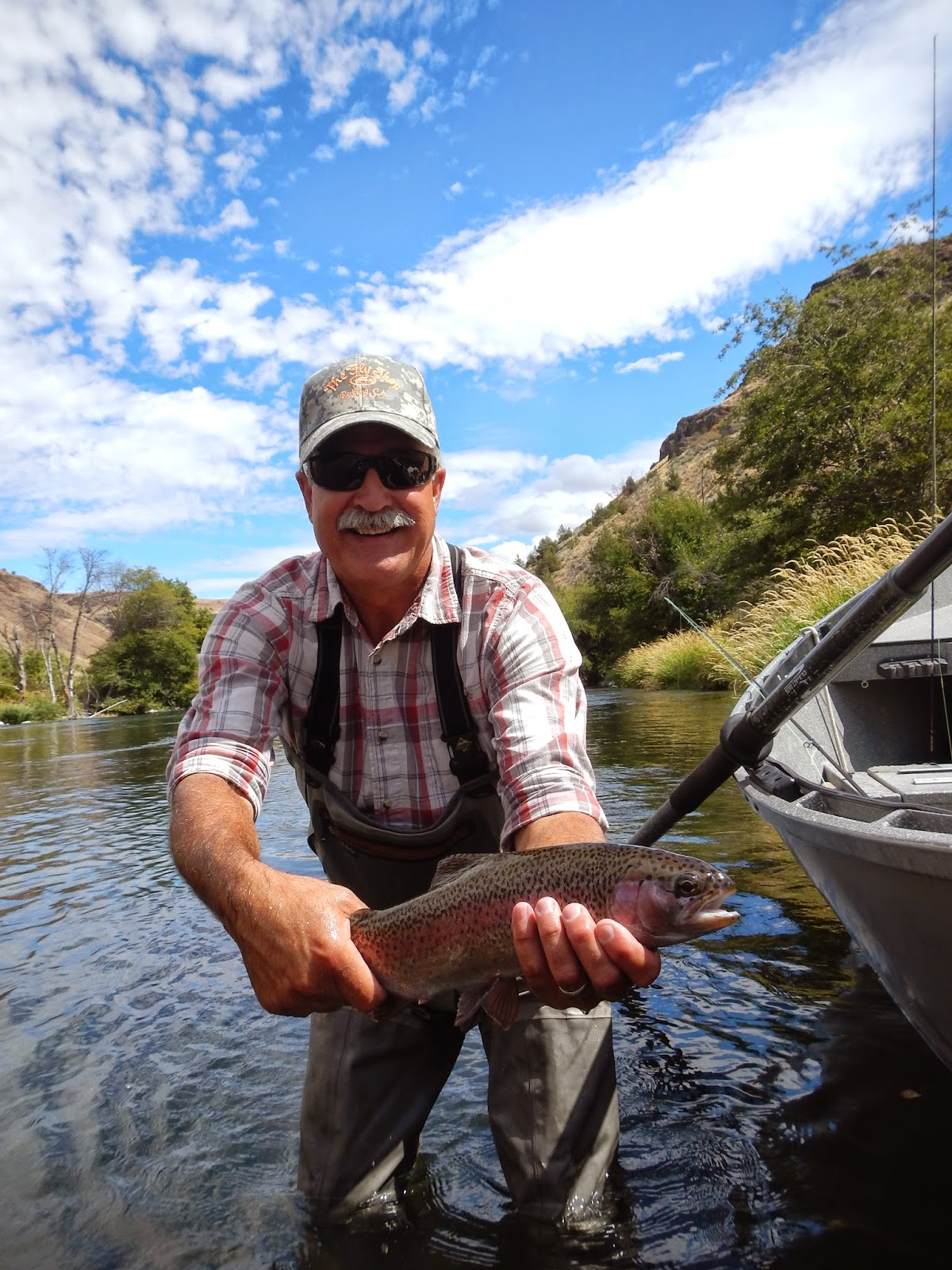 river borne outfitters blog fishing reports deschutes ForDeschutes River Fishing Report