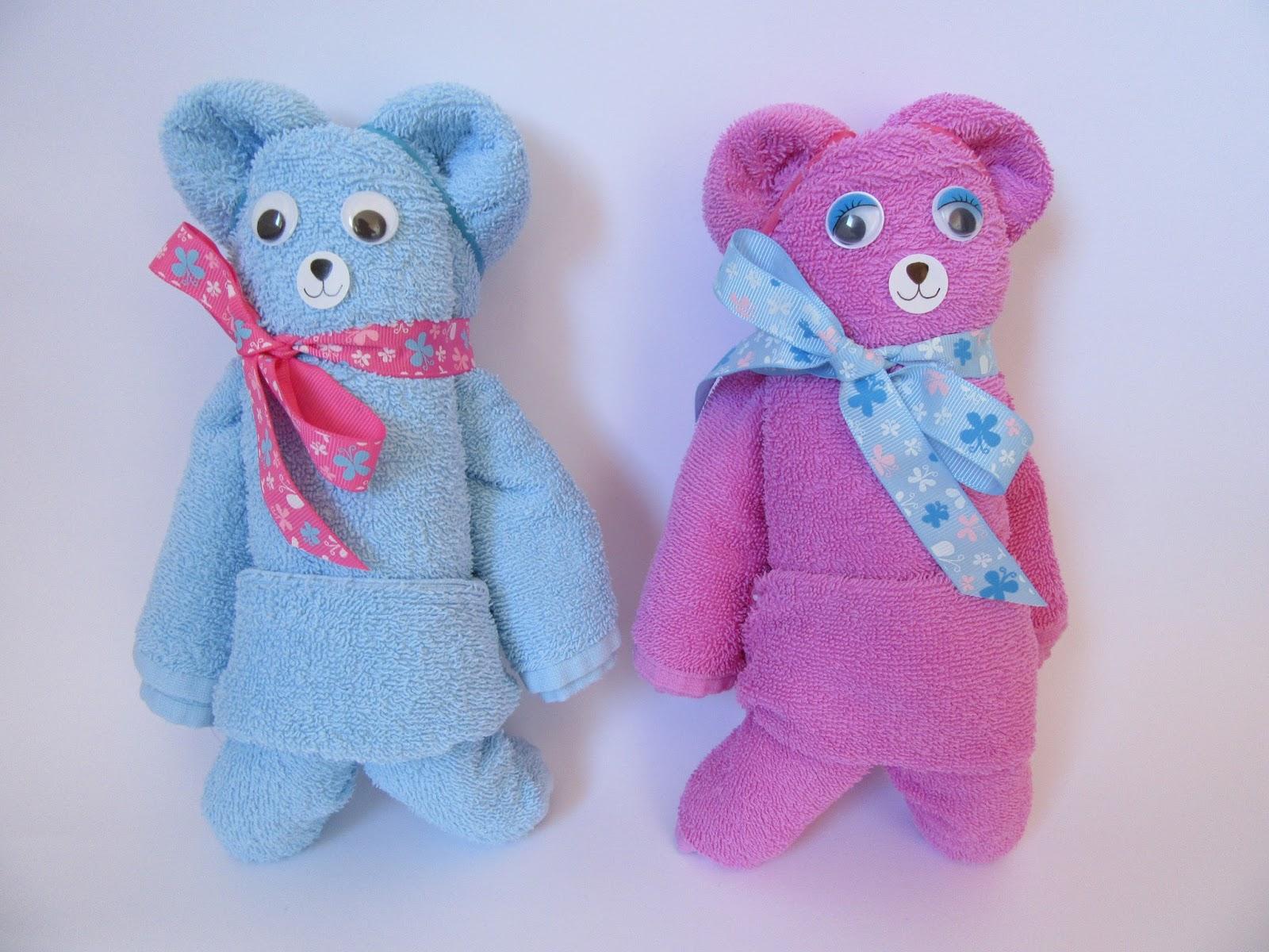 Beliebt DIY: Handtuch-Origami - Teddys aus Handtüchern | ars vera(e) - DIY RH16