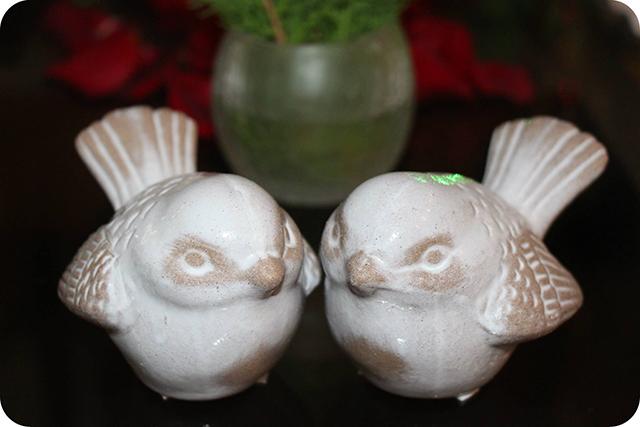 Casal de Pássaros : Decoração do Jantar Dia dos Namorados