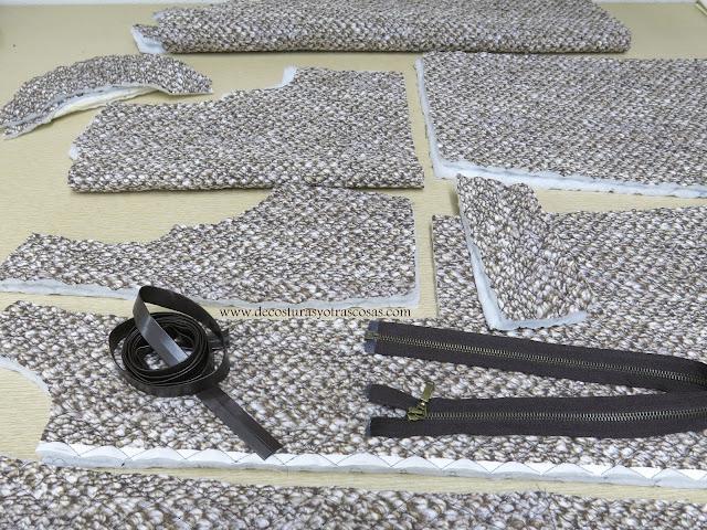 tejido acolchado guateado