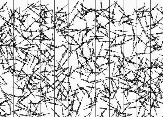 Agulha de Buffon - Cronologia de pi