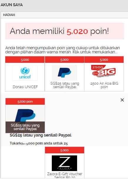 Cara Mendapatkan Uang Dollar SG $25 dari YouGov