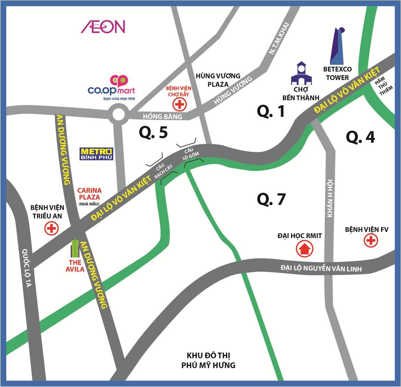 Dự án chung cư the avila quận 8 An Dương Vương