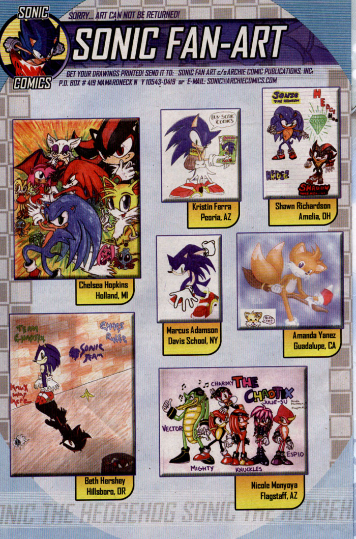 Comic Sonic The Hedgehog 1993 Issue 142