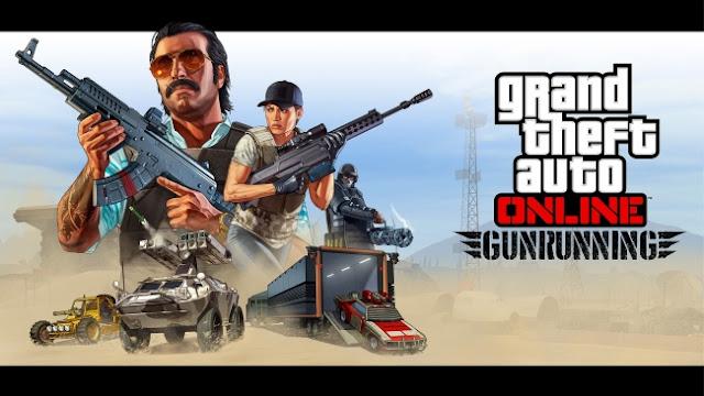 GTA 5 Gunrunning Logo