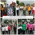 Kapolres Dumai Gelar Jalan Santai Dan Olahraga Bersama Tni Dan Masyarakat Dalam Memperingati Hut Bhayangkara Ke 72.