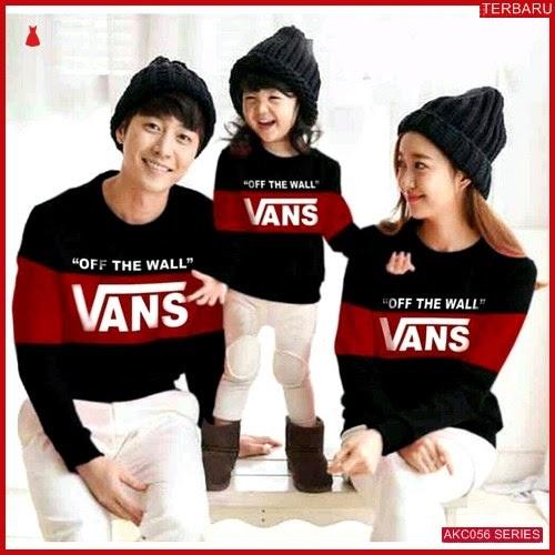 AKC056S160 Sweater Couple Vans Anak 056S160 Keluarga HItam BMGShop