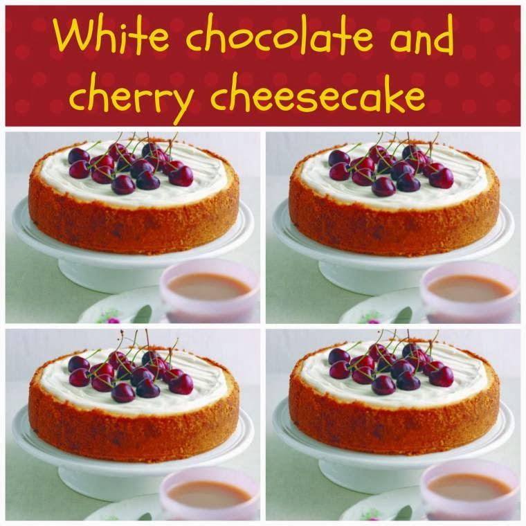 White Chocolate And Cherry Cheesecake: How To Make