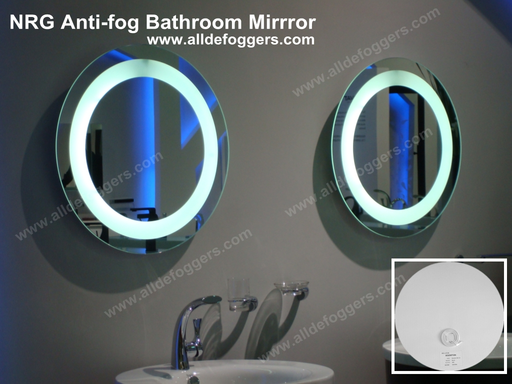 AntiFog Bathroom Mirrors