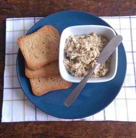 manteiga de sardinha