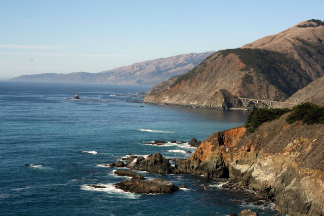 big sur route 1 california