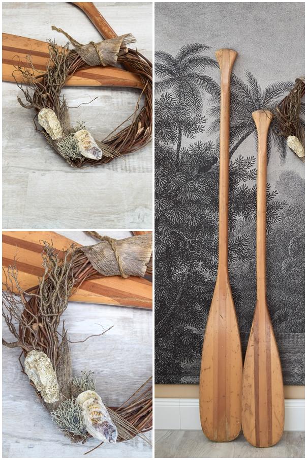 DIY Kranz aus Muscheln: Muschelkranz basteln. Sommer Deko Dekoidee selbermachen