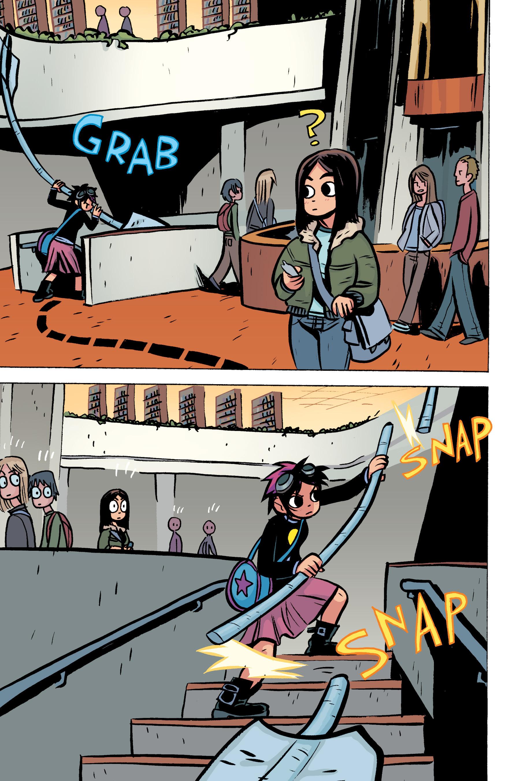 Read online Scott Pilgrim comic -  Issue #2 - 132