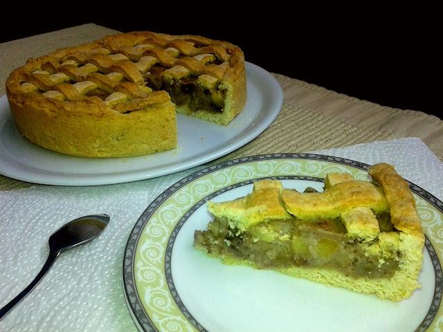 домашній струдель пиріг з яблуками
