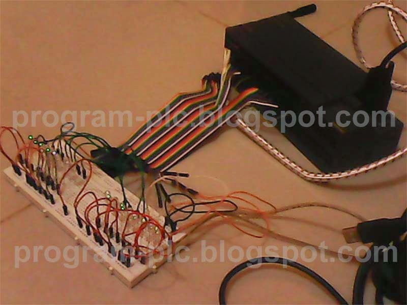 Hardware for audio to LED Display with PLC,LED and PLC Cable
