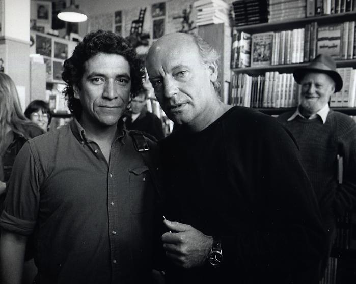 Lalo Borja: Lalo Borja Con Eduardo Galeano, San Francisco