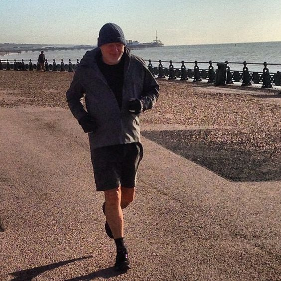 DAVID GILMOUR ON THE RUN