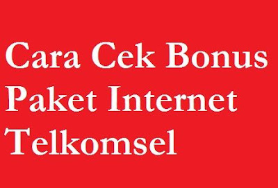 Dalam meningkatkan pelayanan Telkomsel sering memberikan bonus untuk konsumen nya Cara Cek Bonus Paket Internet Telkomsel kartu As, Simpati dan Loop