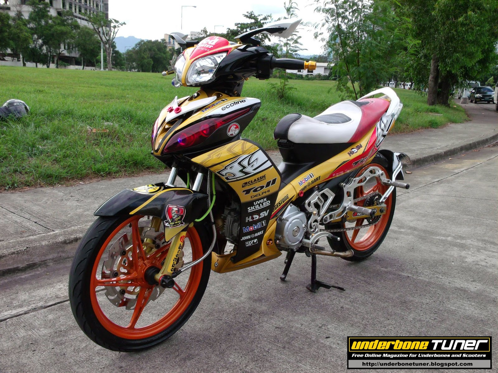 Modified Yamaha Vega Force I Pictures To Pin On Pinterest