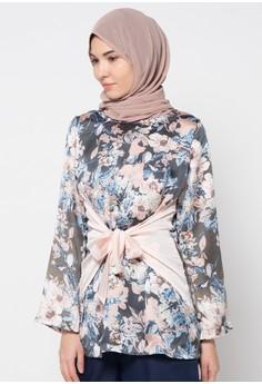 20 Model Baju Batik Kantor Wanita Berjilbab Terbaru 2017  Model