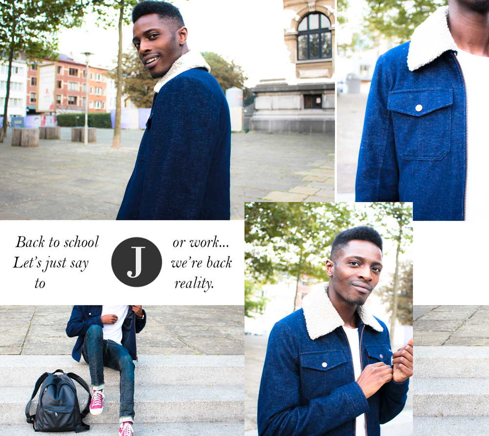 Back to Reality + Giveaway | Street Style Look by Jonathan Zegbe | Clothes from WE FASHION Blue Ridge Collection
