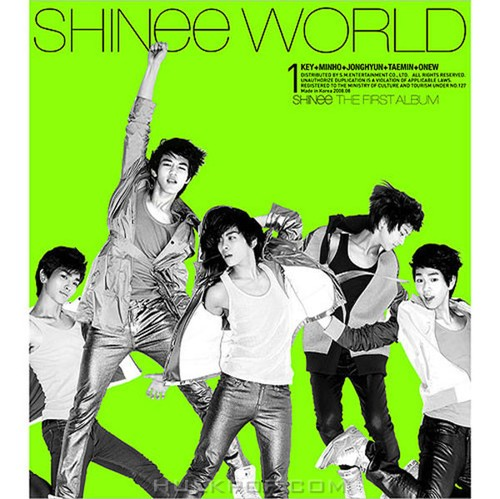 SHINee – SHINee The 1st Album `The SHINee World` (FLAC + ITUNES PLUS AAC M4A)